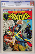 Bronze Age (1970-1979):Horror, Tomb of Dracula #9 Massachusetts Copy pedigree (Marvel, 1973) CGCNM/MT 9.8 Off-white to white pages....