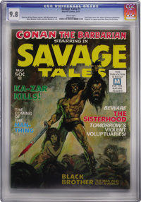Savage Tales #1 (Marvel, 1971) CGC NM/MT 9.8 White pages
