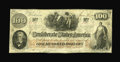 Confederate Notes:1862 Issues, T41 $100 1862. Cr 330 PF-8. ...