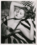 "Movie Posters:Miscellaneous, Martha Vickers by Bert Six (Warner Brothers, 1940s). Portrait (8"" X10"").. ..."