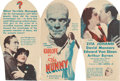 """Movie Posters:Horror, The Mummy (Universal, 1932). Herald (6"""" X 9"""" unfolded).. ..."""