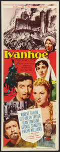"Movie Posters:Adventure, Ivanhoe (MGM, 1952). Insert (14"" X 36""). Adventure.. ..."