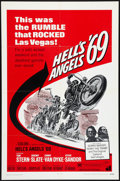 "Movie Posters:Action, Hell's Angels '69 (American International, 1969). One Sheet (27"" X41""). Action.. ..."