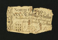 Colonial Notes:North Carolina, North Carolina March 9, 1754 30s About Good....