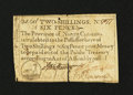 Colonial Notes:North Carolina, North Carolina December, 1771 2s/6d Very Fine, repaired....