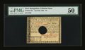 Colonial Notes:New Hampshire, New Hampshire April 29, 1780 $4 PMG About Uncirculated 50....