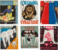 Football Collectibles:Publications, 1933-1967 Ivy League Football Programs Lot of 22....