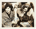 Autographs:Photos, Babe And Claire Ruth Multi Signed Original Photo....