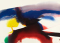 Fine Art - Work on Paper:Watercolor, PAUL JENKINS (American, b. 1923). Phenomena Ahab's Witness,1996. Watercolor on paper. 31-1/2 x 43-1/2 inches (80.0 x 11...