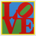 Prints:Contemporary, ROBERT INDIANA (American, b. 1928). Love, 1995. Colorsilkscreen on cardboard. 37 x 37 inches (94.0 x 94.0 cm). Ed.244/...