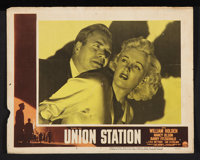 "Union Station (Paramount, 1950). Lobby Card Set of 8 (11"" X 14""). Film Noir. ... (Total: 8 Items)"