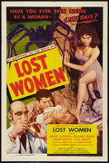 "Movie Posters:Science Fiction, Mesa of Lost Women (Howco, 1952). One Sheet (27"" X 41""), Title Lobby Card, and Lobby Cards (3) (11"" X 14""). Science Fiction... (Total: 5 Items)"