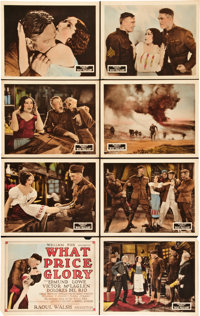 """What Price Glory (Fox, 1926). Lobby Card Set of 8 (11"""" X 14""""). ... (Total: 8 Items)"""