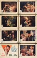 """Movie Posters:Romance, The Night of Love (United Artists, 1927). Lobby Card Set of 8 (11""""X 14"""").. ... (Total: 8 Items)"""