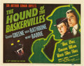"Movie Posters:Mystery, The Hound Of The Baskervilles (20th Century Fox, 1939). Title LobbyCard (11"" X 14"").. ..."