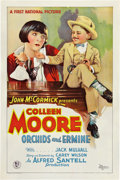 "Movie Posters:Comedy, Orchids and Ermine (First National, 1927). One Sheet (27"" X 41"")Style B.. ..."