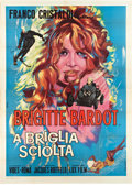 "Movie Posters:Comedy, Please Not Now (Lux Film, 1961). Italian 4 - Folio (55"" X 78"")....."