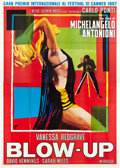 "Movie Posters:Thriller, Blow-Up (MGM, 1967). Italian 4 - Folio (55"" X 78"").. ..."