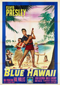 "Movie Posters:Elvis Presley, Blue Hawaii (Paramount, 1962). Italian 4 - Folio (55"" X 78"").. ..."