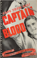 """Movie Posters:Adventure, Captain Blood (Warner Brothers, 1935). Pressbook (11"""" X 17"""", Multiple Pages).. ..."""