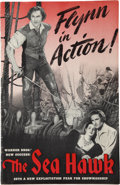"Movie Posters:Adventure, The Sea Hawk (Warner Brothers, 1940). Pressbook (11"" X 17"",Multiple Pages).. ..."