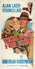 "Movie Posters:Film Noir, This Gun for Hire (Paramount, R-1945). Three Sheet (41"" X 81"")....."