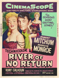 "Movie Posters:Adventure, River of No Return (20th Century Fox, 1954). Poster (30"" X 40"")Style Y.. ..."