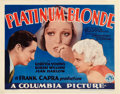 "Movie Posters:Drama, Platinum Blonde (Columbia, 1931). Title Lobby Card (11"" X 14"")....."