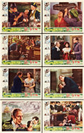 "Movie Posters:Adventure, Dr. Syn (Gaumont, 1937). Lobby Card Set of 8 (11"" X 14"").. ...(Total: 8 Items)"