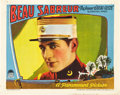 "Movie Posters:Adventure, Beau Sabreur (Paramount, 1928). Lobby Cards (2) (11"" X 14"").. ...(Total: 2 Items)"