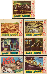 "Dark Sands (Record Pictures, 1938). Title Lobby Card and Lobby Cards (6) (11"" X 14""). ... (Total: 7 Items)"