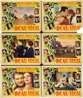 "Movie Posters:Adventure, Beau Ideal (RKO, 1931). Lobby Cards (6) (11"" X 14"").. ... (Total: 6Items)"