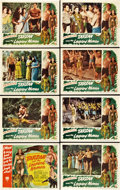 "Movie Posters:Adventure, Tarzan and the Leopard Woman (RKO, 1946). Lobby Card Set of 8 (11""X 14"").. ... (Total: 8 Items)"