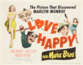 """Movie Posters:Comedy, Love Happy (United Artists, R-1953). Title Lobby Card (11"""" X 14"""")....."""