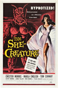 "Movie Posters:Science Fiction, The She-Creature (American International, 1956). One Sheet (27"" X41"").. ..."