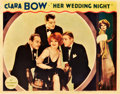 "Movie Posters:Comedy, Her Wedding Night (Paramount, 1930). Lobby Cards (2) (11"" X 14"")..... (Total: 2 Items)"