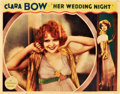 "Movie Posters:Comedy, Her Wedding Night (Paramount, 1930). Lobby Card (11"" X 14"").. ..."