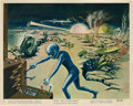 "Movie Posters:Science Fiction, The Mysterians (MGM, 1959). Color Still Set of 10 (8"" X 10"").. ...(Total: 10 Items)"