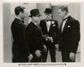 """Movie Posters:Crime, James Cagney in """"G-Men"""" (First National, 1935). Photos (3) (8"""" X10"""").. ... (Total: 3 Items)"""
