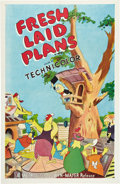"""Movie Posters:Animated, Fresh Laid Plans (MGM, 1951). One Sheet (27"""" X 41"""").. ..."""