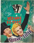 "Movie Posters:Musical, Swing Time (RKO, 1936). Pressbook (14.5"" X 13.5"", Multiple Pages).. ..."