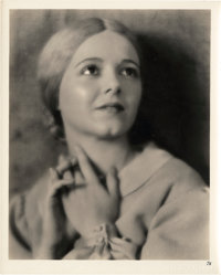 "Janet Gaynor in ""Sunrise"" by Max Munn Autrey (Fox, 1927). Portrait (8"" X 10"")"
