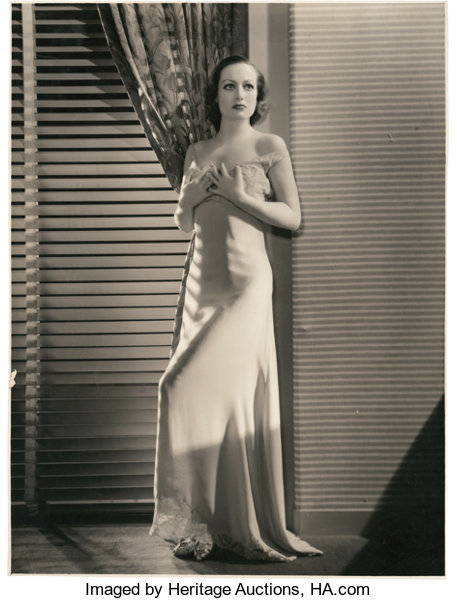 Joan Crawford In Grand Hotel By George Hurrell Mgm 1932 Lot 86072 Heritage Auctions