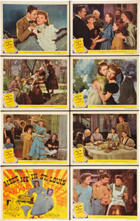 """Meet Me in St. Louis (MGM, 1944). Lobby Card Set of 8 (11"""" X 14""""). ... (Total: 8 Items)"""