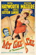 "Movie Posters:Musical, My Gal Sal (20th Century Fox, 1942). One Sheet (27"" X 41"") StyleA.. ..."