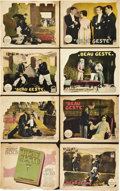 "Movie Posters:Adventure, Beau Geste (Paramount, 1926). Lobby Card Set of 8 (11"" X 14"").. ...(Total: 8 Items)"
