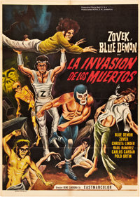 Blue Demon: The Invasion of the Dead (Azteca, 1973) and Wrestling Woman vs. the Mad Doctor (Cinematográfica Calde...