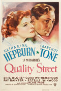 "Movie Posters:Drama, Quality Street (RKO, 1937). One Sheet (27"" X 41"").. ..."