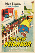 "Movie Posters:Animated, The New Neighbor (RKO, 1953). One Sheet (27"" X 41"").. ..."