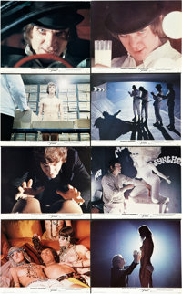 "A Clockwork Orange (Warner Brothers, 1971). X-Rated Mini Lobby Cards (14) (10"" X 8""). ... (Total: 14 Items)"
